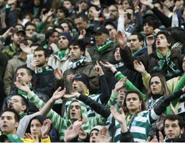 Adeptos do Sporting: sporting.pt