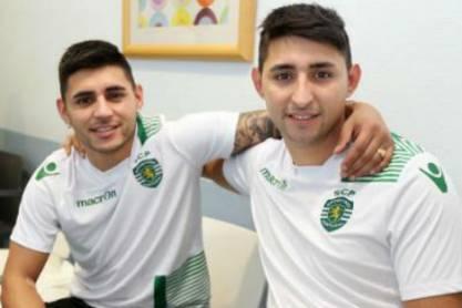 Alan e Federico Ruiz (Sporting)