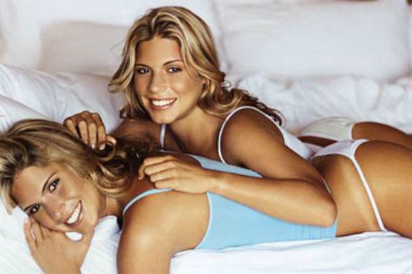 São atletas ou modelos? - foto 01 (Bia e Bianca Feres, natação sincronizada)