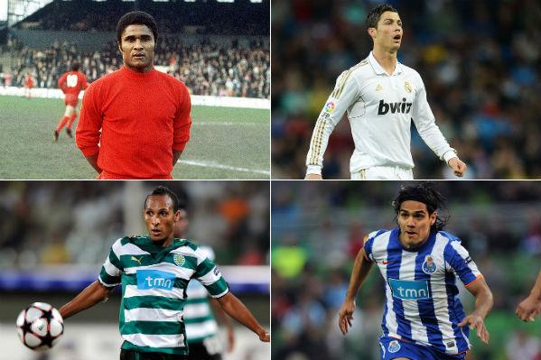 Goleadores em competições da UEFA