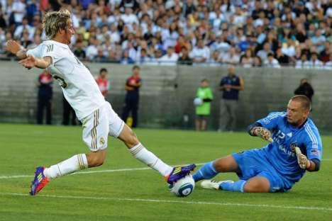 Fábio Coentrão (jogo de estreia no Real Madrid)