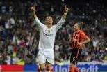 Cristiano Ronaldo (Real Madrid) Celebra golo ao Shaktar Donetsk