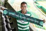 Elias com cachecol do Sporting