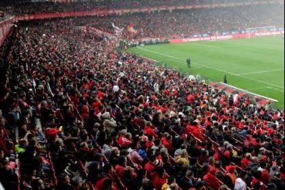 Estádio da Luz, bancada cheia