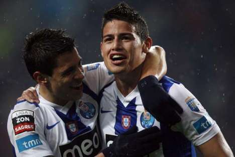 FC Porto-Rio Ave (14/01/12): James e Iturbe