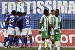 Feirense vs Rio Ave: Feirense festeja (1)