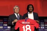 Gelson Martins apresentado no Atlético de Madrid