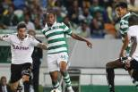 Gelson Martins e Freddy Montero (Sporting) entre adversários Nacional