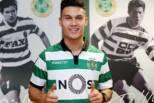 Liam Jordan apresentado no Sporting