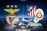Liga dos Campeões (Benfica no Grupo C 2015)
