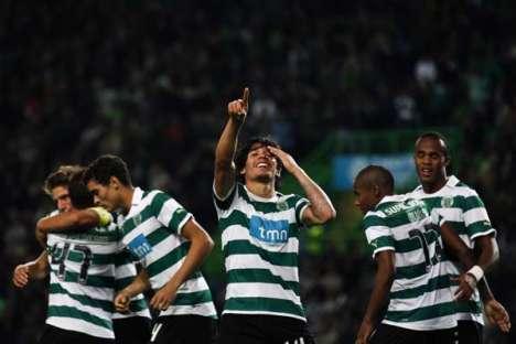 Sporting-U. Leiria (Jornada 10): Matías Fernandez festeja