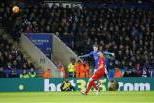 Vardy, golaço contra Liverpool
