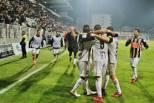 Portimonense festeja golo ao Sporting (Taça da Liga)
