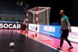 Ricardinho em treino da Seleção