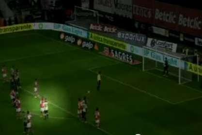Sp. Braga-Benfica: Javi 'fala' com Alan