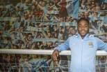 Sterling em apresentação no Manchester City