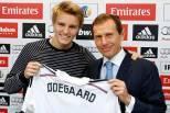 Martin Odegaard apresentado no Real Madrid