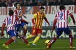 Messi contra o Atlético de Madrid