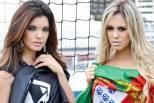Caroline e Érica, adeptas de Portugal (1)