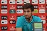 André Gomes em conferência de imprensa da seleção