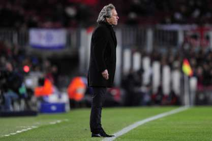 Jorge Jesus (Barcelona vs Benfica)