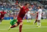 Bernardo Silva (Seleção Portugal sub-20) Celebra golo à Alemanha