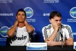 Cristiano Ronaldo e Iker Casillas (Ream Madrid) Conferência de Imprensa