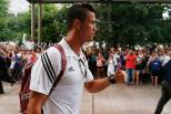 Cristiano Ronaldo chega a Dallas (Real Madrid)