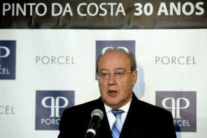 Pinto da Costa discursa no jantar dos 30 anos de presidência