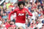 Marouane Fellaini em jogo do Manchester United