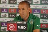 Leonardo Jardim, conferência de imprensa no Sporting