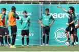 Marco Silva orienta treino do Sporting