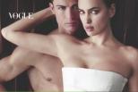 Vídeo: Cristiano Ronaldo e Irina fotografados para a Vogue