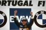 Ayrton Senna vence GP Portugal, 1985