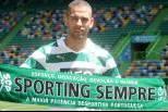 Islam Slimani apresentado no Sporting