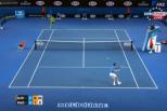 Vídeo: ponto de Djokovic