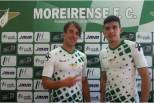 Vítor Gomes e Battaglia apresentados no Moreirense