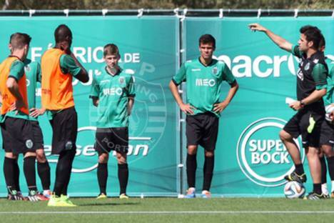 Treino do Sporting 2014/15