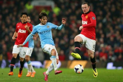 Manchester City vs Manchester United, 2014