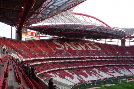 Est dio da luz bancada for Piso 0 estadio da luz