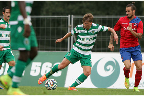 Sporting B vs Oliveirense (2014)